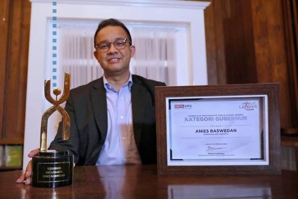 Lagi, Kali Ini Anies Baswedan Raih Penghargaan Public Leader Awards