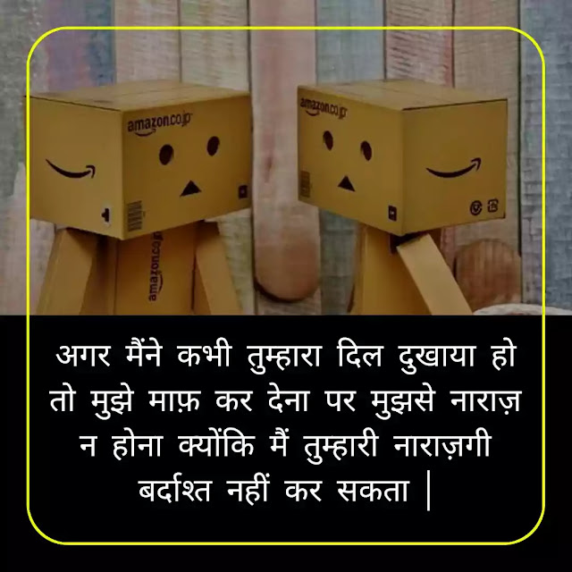 Sorry Quotes In Hindi | I Am Sorry Quotes