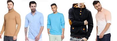 Shirts & T-Shirts for Men