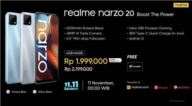 realme narzo 20 boost the power