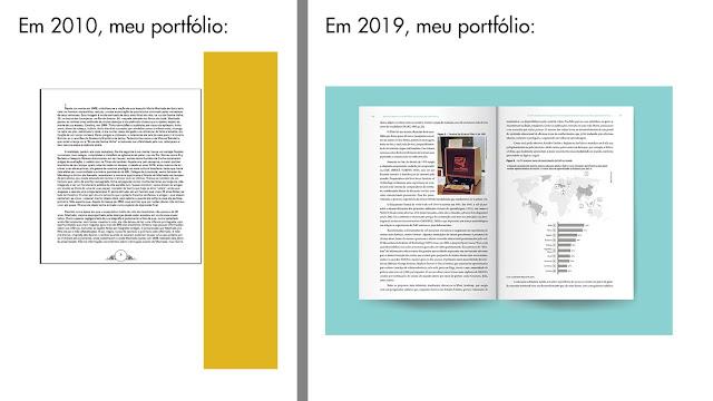 Imagem composta em duas partes. A direita uma página simples mostrando uma página de livro. Na esquerda, uma imagem simulando um livro aberto com página dupla.