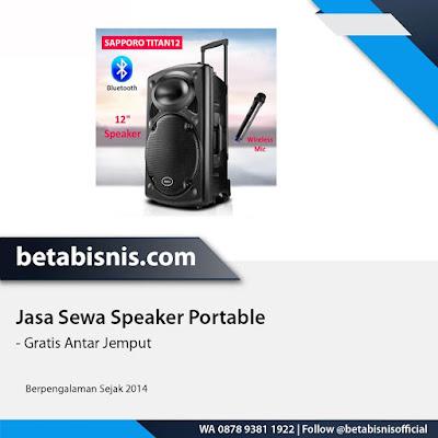 yang menyewakan speaker portable di Pekanbaru