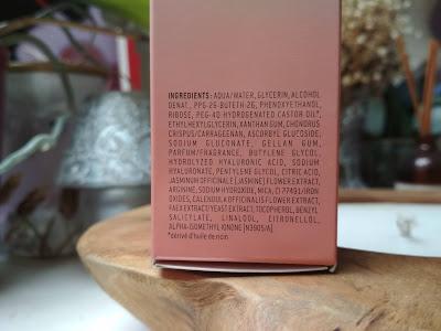 Nuxe Crème Prodigieuse Boost energizujúce sérum zloženie