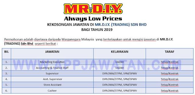 MR.D.I.Y. (TRADING) Sdn Bhd
