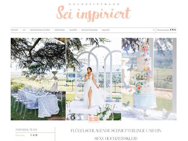 Publikation der Schmetterlingsinspiration im Blog Hochzeitswahn