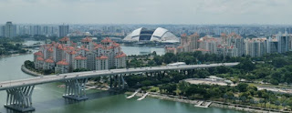Singapore Flyer, la noria de Singapur.