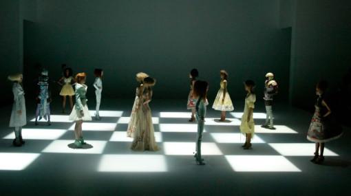 Le jour où Alexander McQueen a créé un jeu d'échecs géant
