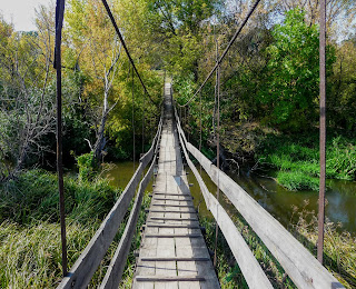 Неліпівка. Міст через Кривий Торець