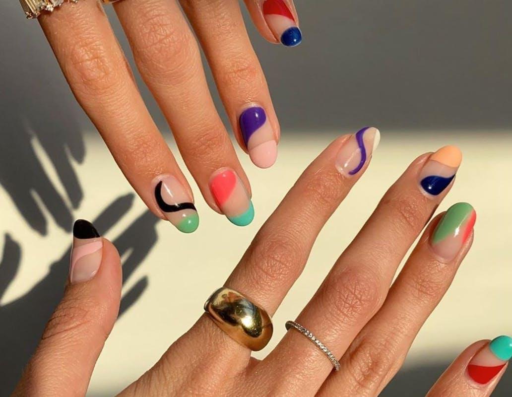 tendência em nail art para primareva verão 2021