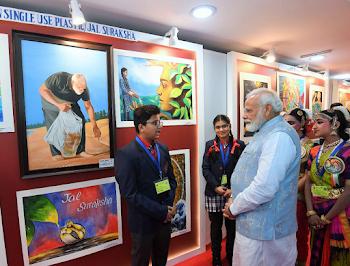 Prime Minister Narendra Modi interacts with 2000+ students and teachers at #ParikshaPeCharcha.
