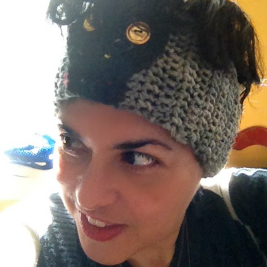 Good Hair Days: Crochet Skull Headband