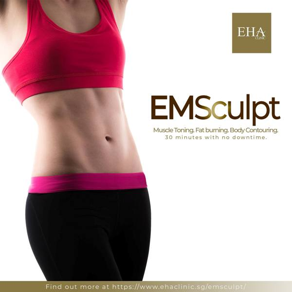 eha clinic emsculpt non invasive tummy tuck treatment