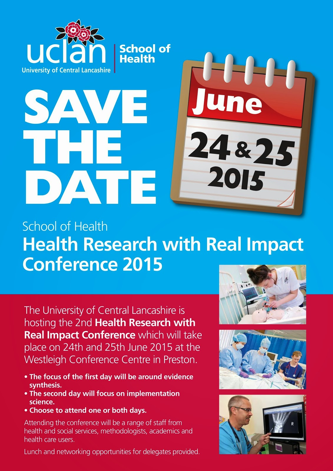 In the space of reasons health research with real impact for Conference save the date template