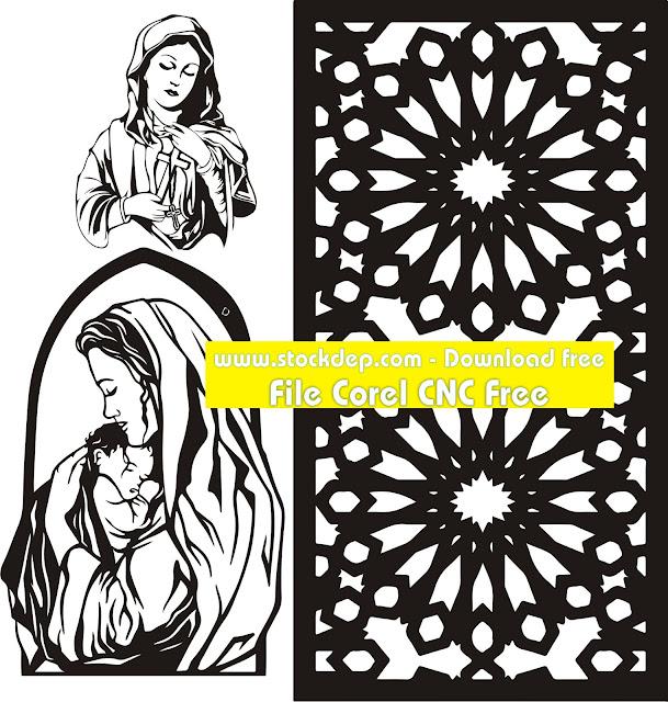 Mẫu CNC thiên chúa – Mẹ Maria
