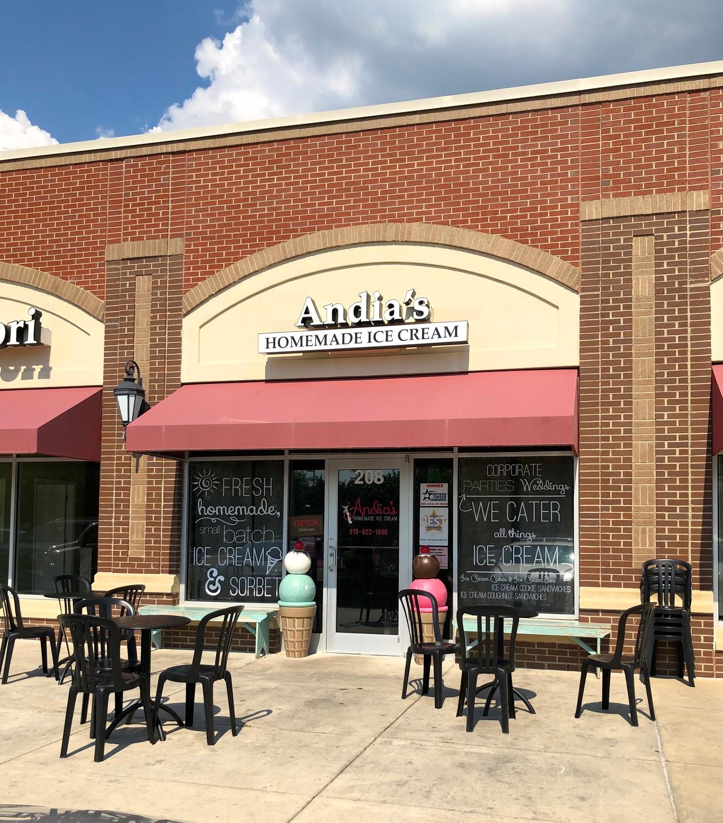 Andia S Homemade Ice Cream Restaurant Review Cary Nc