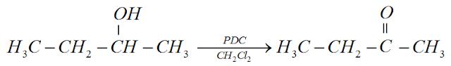 reaçao alcool  pdc aldeido