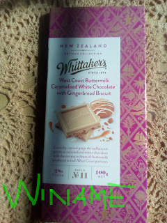 Whittaker's Buttermilk Caramelised White Chocolate With Gingerbread Biscuit