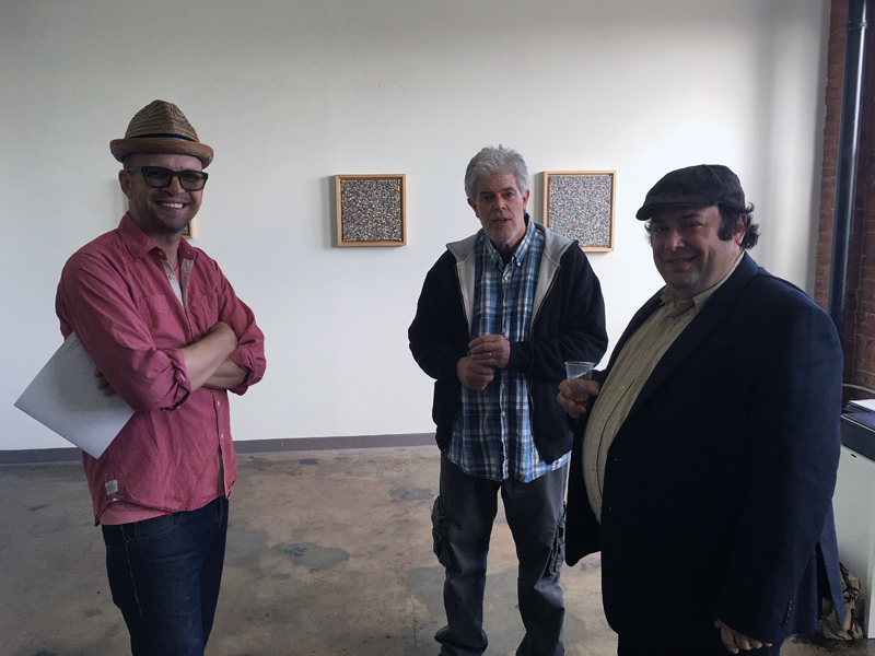 David Pollack At Stout Projects Opening Reception For The