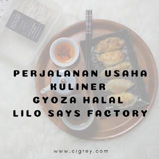 usaha kuliner gyoza halal
