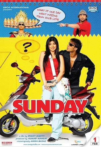 Sunday 2008 Hindi 480p WEB HDRip 350mb