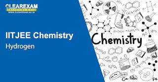 IIT JEE Chemistry Hydrogen