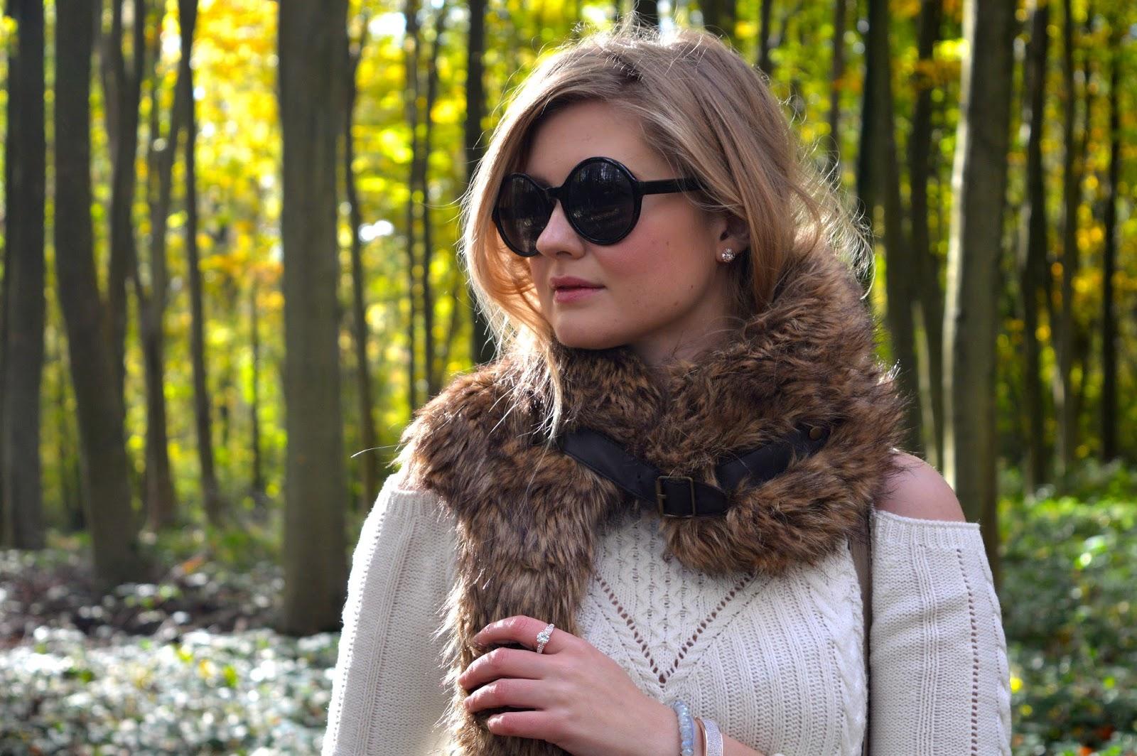 Cold shoulder sweater fashion, fashion bloggers, UK fashion blog, personal style blog