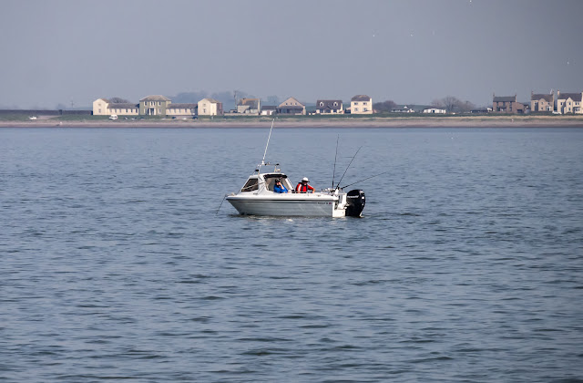 Photo of one of the other fishing boats out in Allonby Bay on Saturday