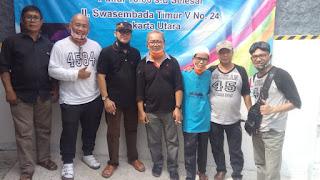 Iluni SMAN 45/84 Jakarta Utara Baksos Berbagi Sembako Pada Anggota