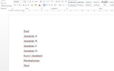 Cara Mudah Merubah File Word Menjadi Excell Tanpa Aplikasi