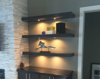 25 amazing shelf lighting wall shelves string lights ideas decor units. Black Bedroom Furniture Sets. Home Design Ideas