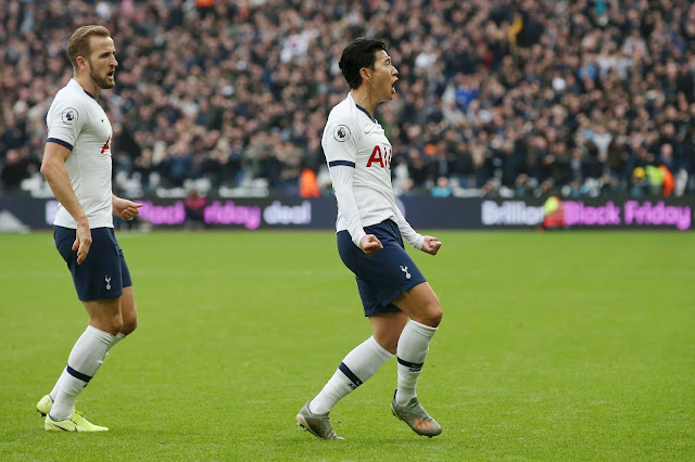 Son Heung-min continue his fine scoring form as he scores the first goal under Mourinho