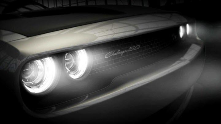 Xe cơ bắp Dodge Challenger ra bản kỷ niệm 50 năm