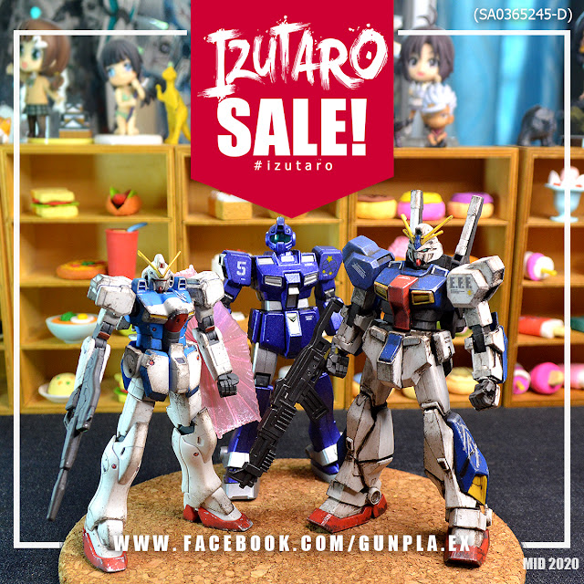 Izutaro Mid Year Sale 2020 | Gunpla Custom for Sale