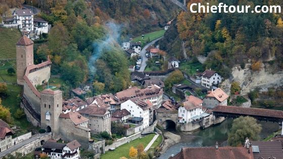 Fribourg, the beautiful attractions of Swiss: