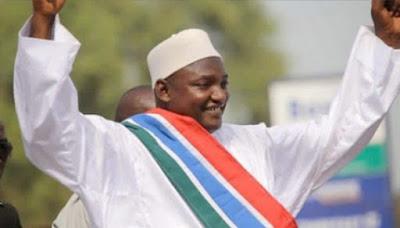 Adama Barrow presiden gambia sekarang
