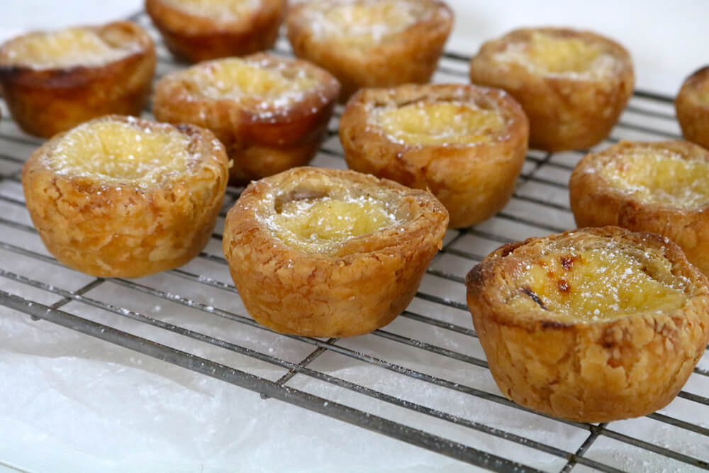 Pastéis de Nata | Portuguese Custard Tarts | Bake Off Bake Along | Hungry Little Bear
