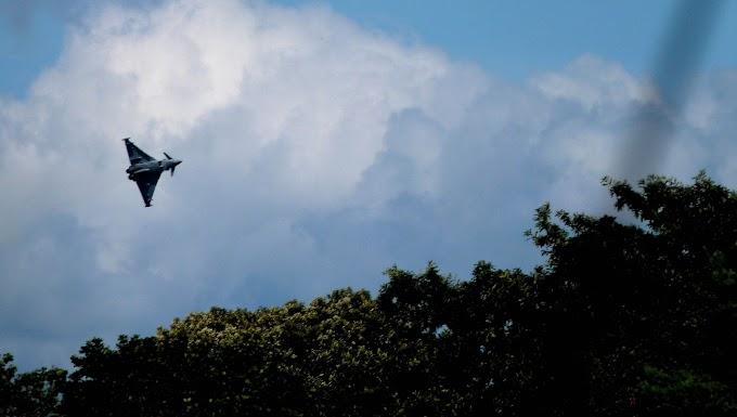 NATO: RAF chief mocks decrepit Russian planes as Typhoons intercept them near UK airspace