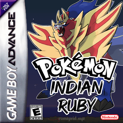 Pokemon Indian Ruby GBA ROM Hack Download