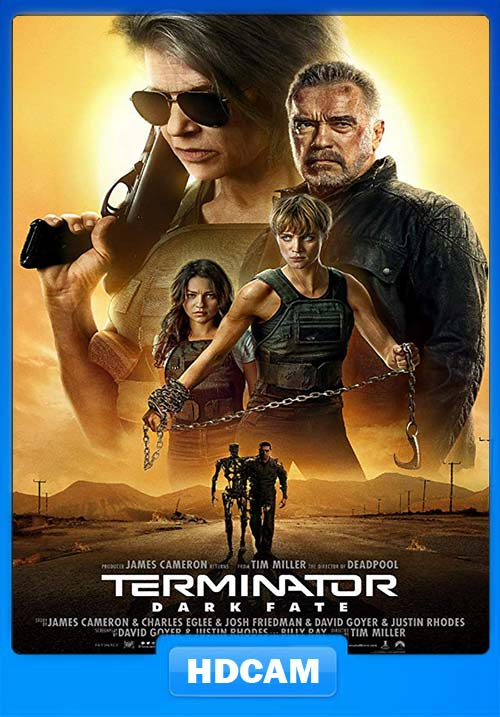Terminator Dark Fate 2019 English HDCAM 720p x264 | 480p 300MB | 100MB HEVC Poster
