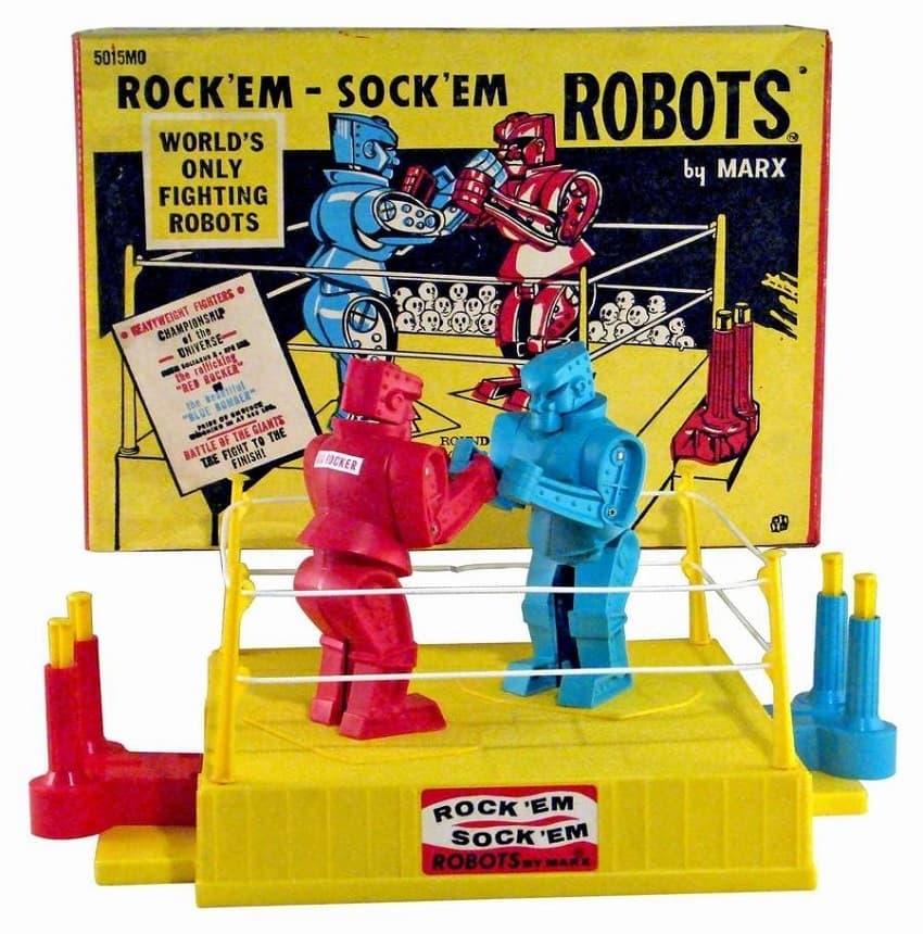 Вин Дизель снимет блокбастер по настольной игре  Rock'em Sock'em Robots