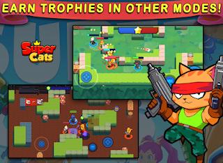 تحميل لعبة Super Cats مهكرة