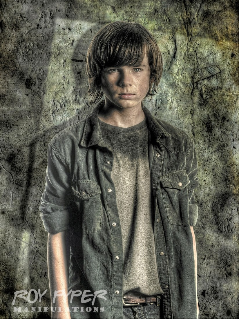 03-Carl-Grimes-Roy-Pyper-nerdboy69-The-Walking-Dead-Series-05-Photographs-www-designstack-co