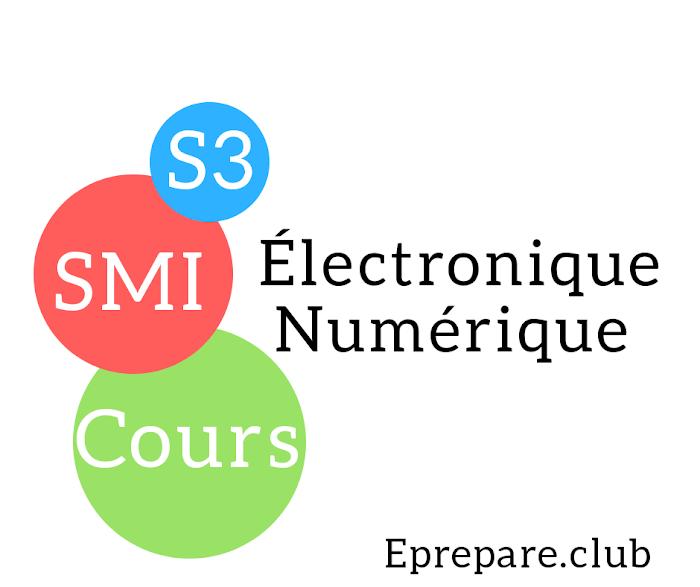 Cours d'électronique numérique SMI Semestre S3 PDF