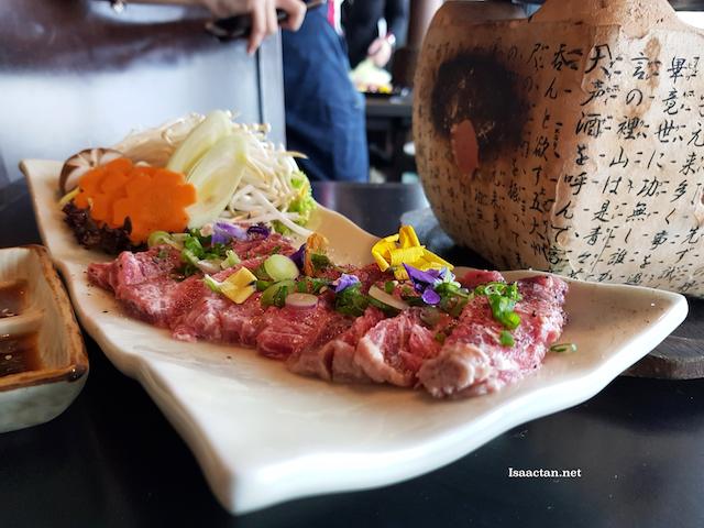 Wagyu Tobanyaki