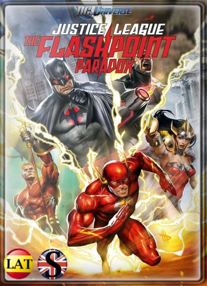 La Liga de la Justicia: La Paradoja del Tiempo (2013) HD 1080P LATINO/INGLES