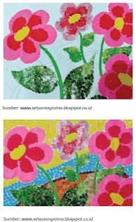 Tutupi pola secara menyeluruh dengan kertas warna-warni sesuai dengan keinginanmu www.simplenews.me