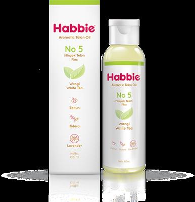Minyak Telon Habbie Aromatic