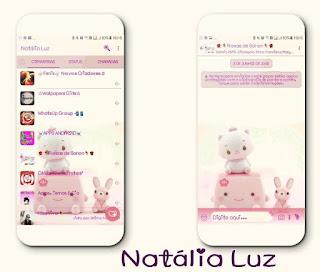 Cute Theme For YOWhatsApp & Fouad WhatsApp By Natalia Luz