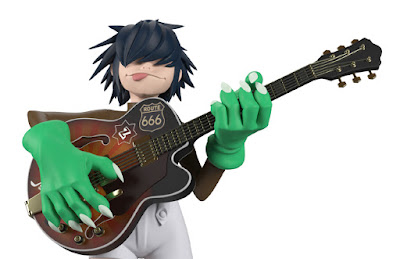 Superplastic Gorillaz Song Machine Soft Vinyl Figures