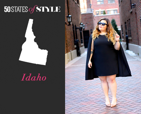 50 states of style, idaho fashion blogger, boise, idaho, natalie craig, natalie in the city, chicago, plus size fashion, style blazer